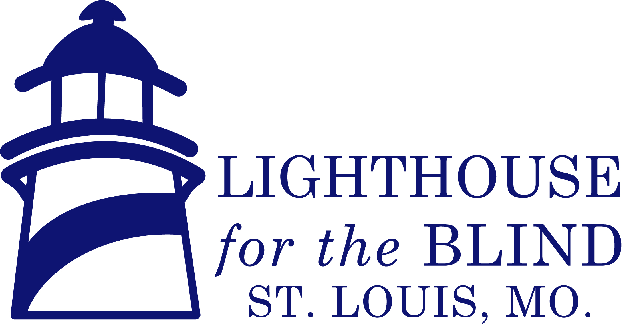Lighthouse Full Logo - 2747 Blue